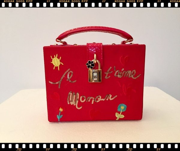 Mini bag rigida rossa