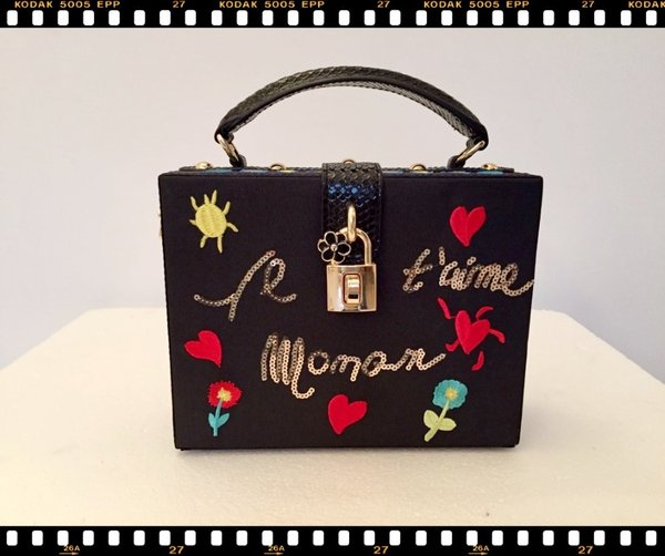 Mini bag rigida nera