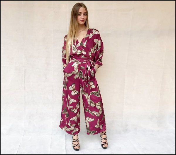 Jumpsuit butterfly Vicolo.