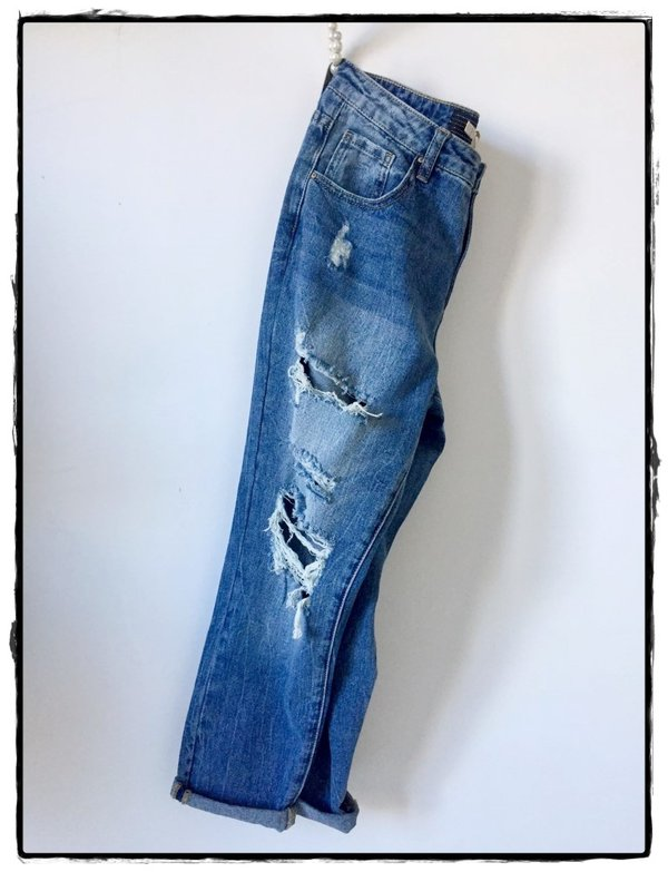 Jeans rotture.